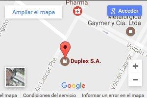 ubicacion duplex