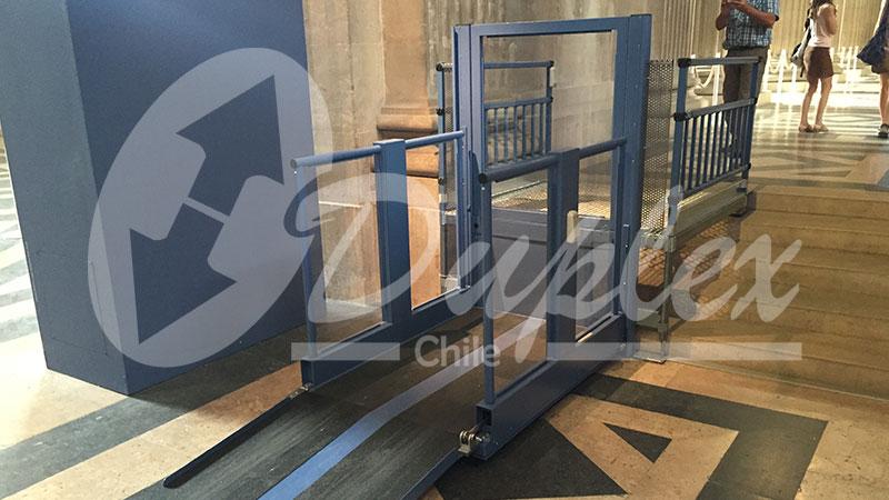 Elevador plataforma vertical